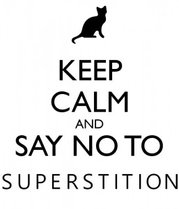 Image result for image just say no to superstitions