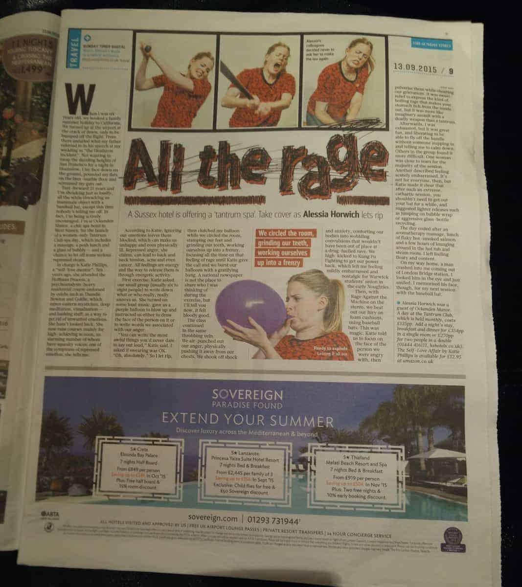 Tantrum News Article