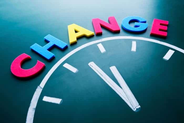 Change- 'change'