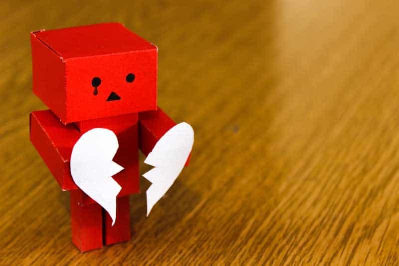Get over divorce heartbreak