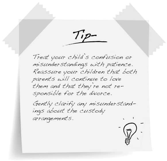 Naked Divorce Tip for Child-centered divorce