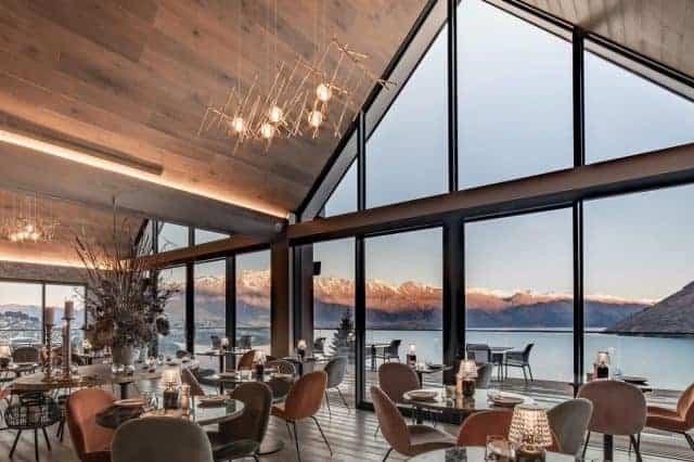 Admire Lake Wakatipu whilst eating your breakfast