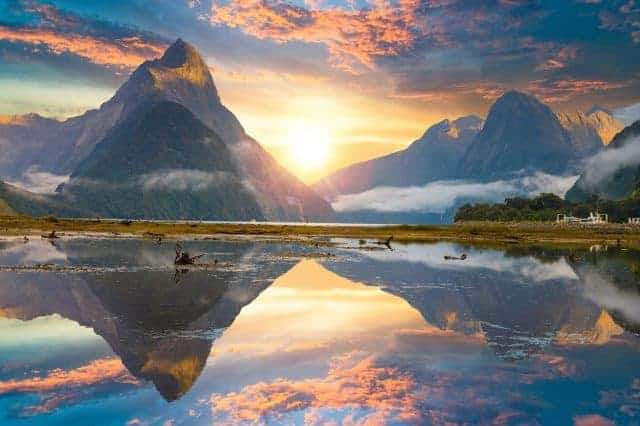 New Zealand's most spectacular natural attraction, Milford Sound can be enjoyed on an optional excursion