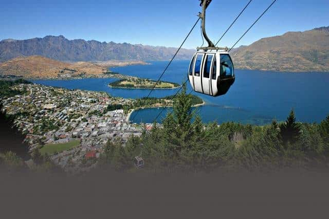 The Skyline Gondola will give you beautiful views of Queenstown