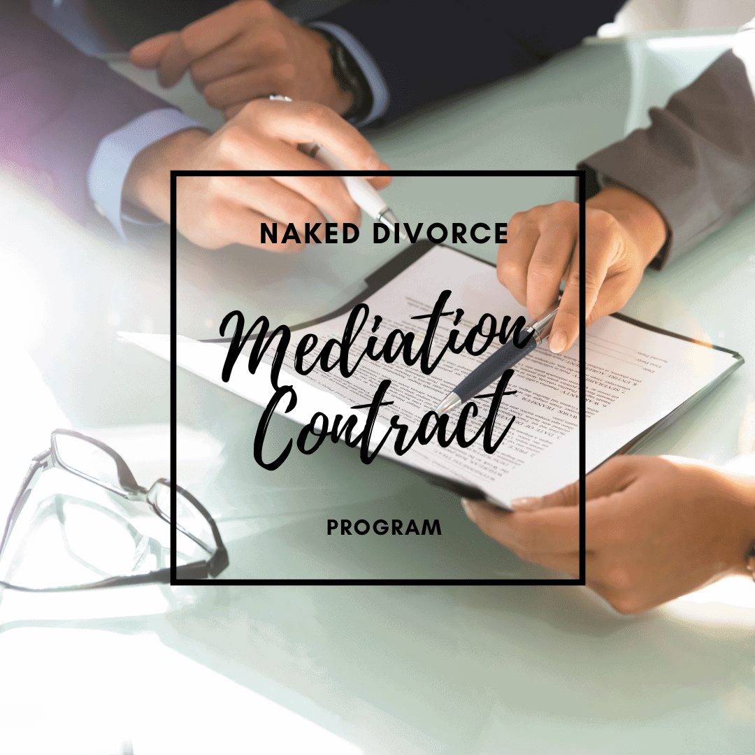 Naked Divorce Mediation Contract